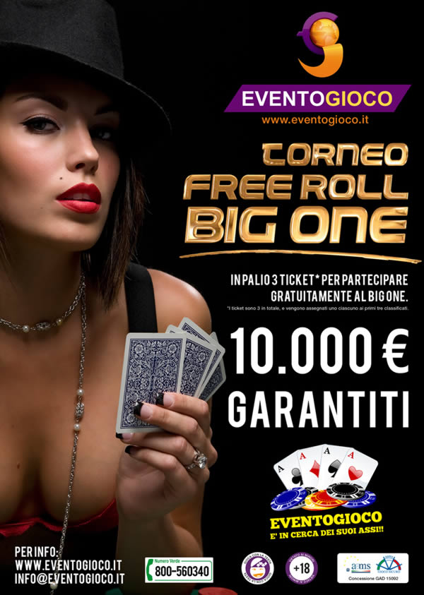 Torneo poker the big one